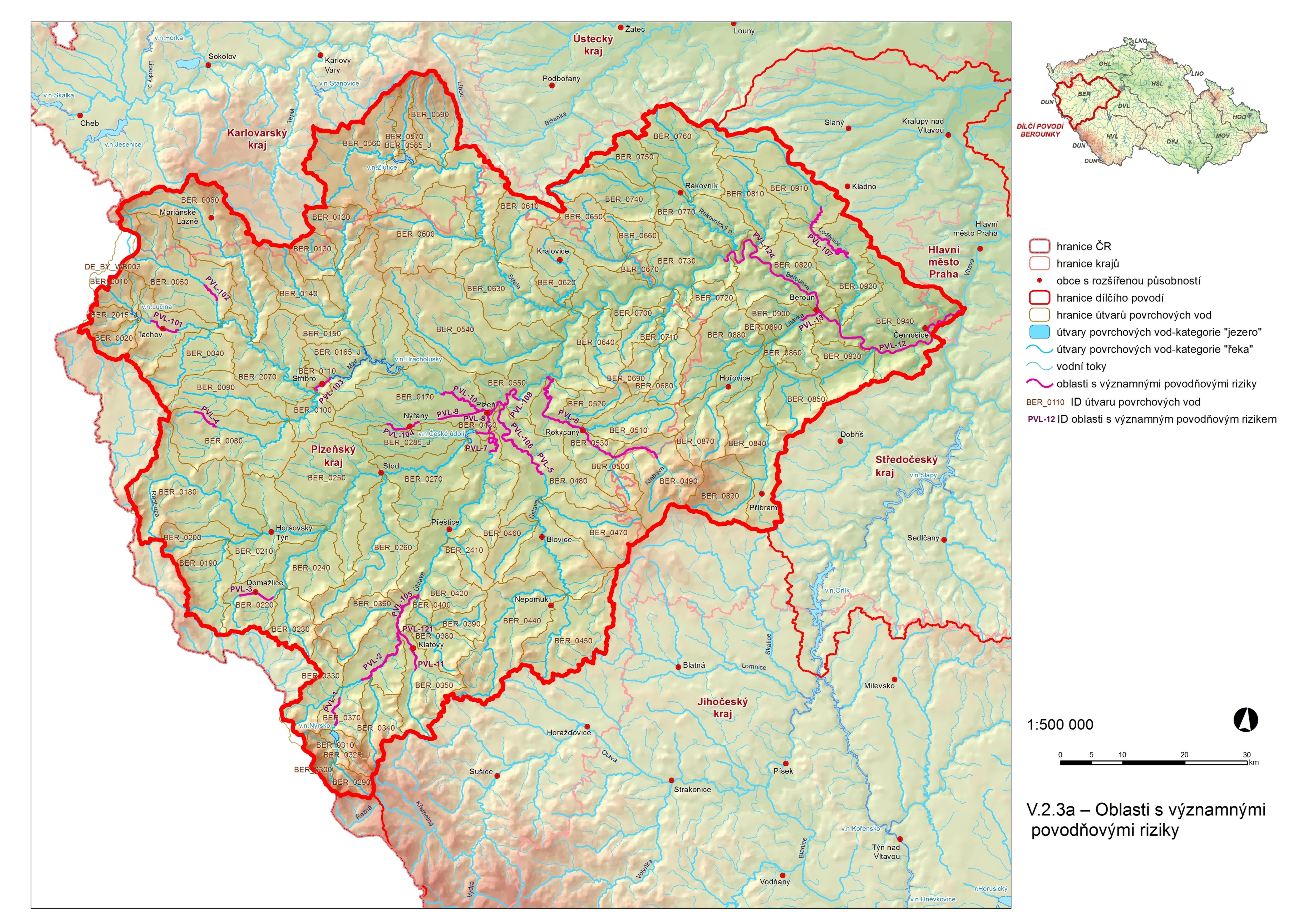 Plan Dilciho Povodi Berounky V Ochrana Pred Povodnemi A Vodni